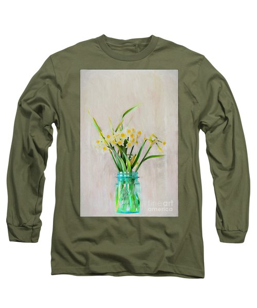 Long Sleeve T-Shirt featuring the photograph Spring In The Country by Benanne Stiens