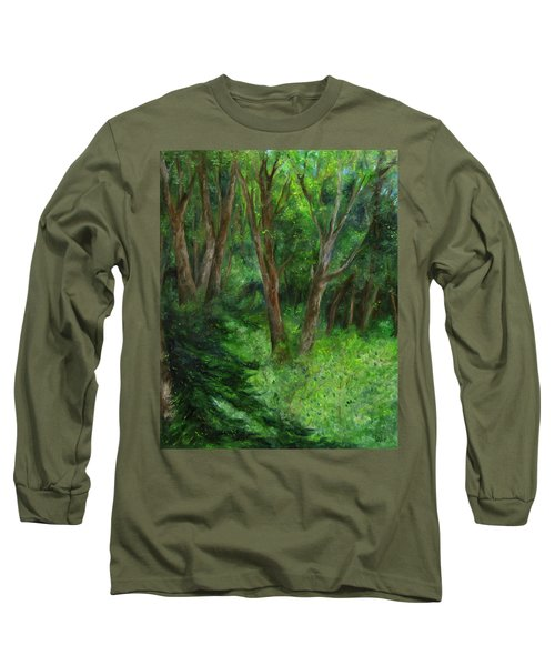 Spring In The Forest Long Sleeve T-Shirt