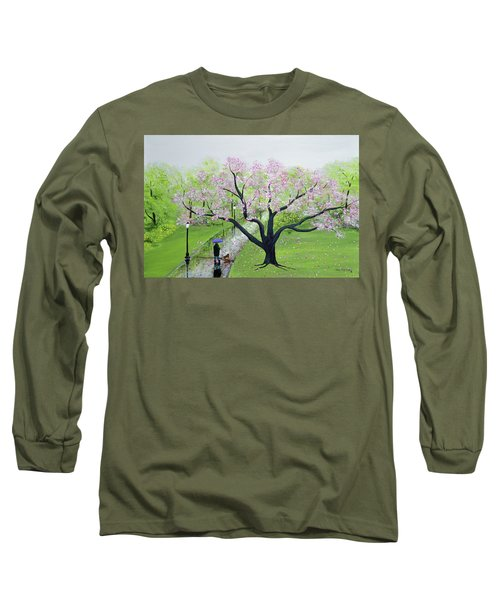 Spring In The Park Long Sleeve T-Shirt