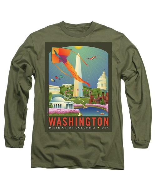 Spring In Washington D.c. Long Sleeve T-Shirt