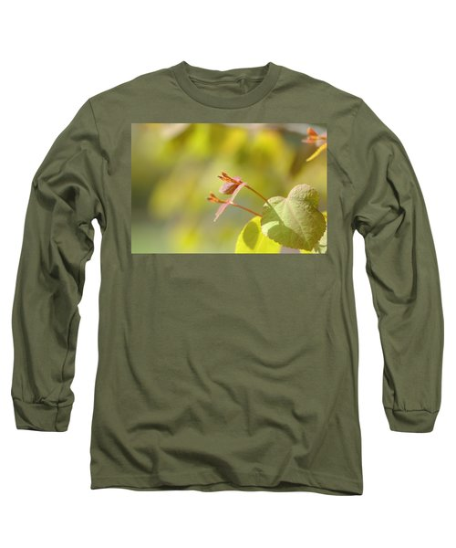 Long Sleeve T-Shirt featuring the photograph Spring Macro2 by Jeff Burgess