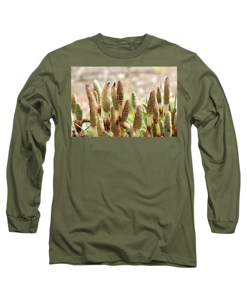 Long Sleeve T-Shirt featuring the photograph Spring Macro4 by Jeff Burgess