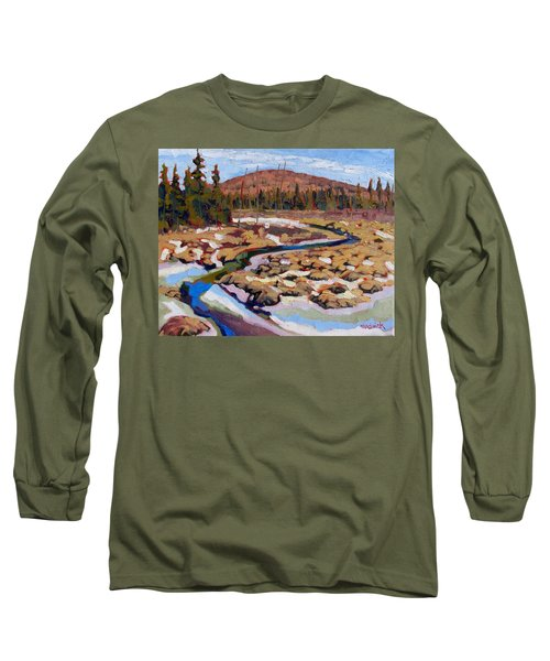 Spring Marsh Algonquin Long Sleeve T-Shirt