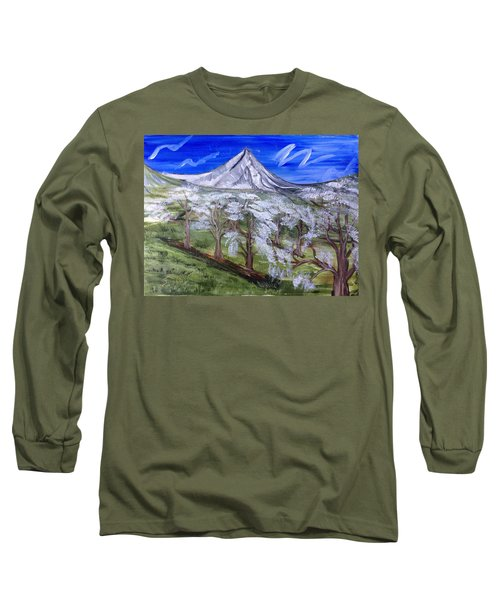 Spring On The Hood Long Sleeve T-Shirt