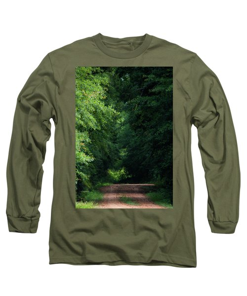 Long Sleeve T-Shirt featuring the photograph Spring Path Of Light by Shelby Young