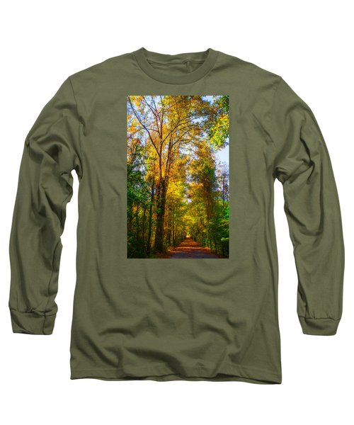 Spring Path Long Sleeve T-Shirt by Parker Cunningham