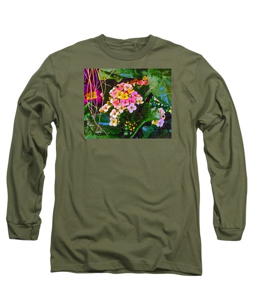 Spring Show 12 Long Sleeve T-Shirt by Janis Nussbaum Senungetuk
