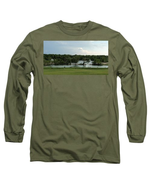 Spring Splendor Long Sleeve T-Shirt by Sylvia Thornton
