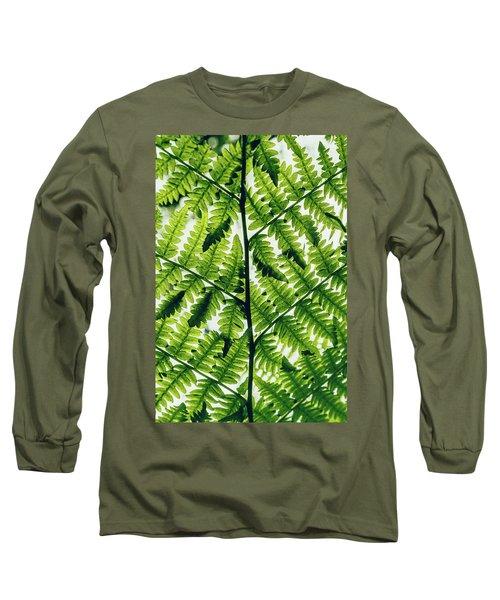 Spring Symmetry Long Sleeve T-Shirt