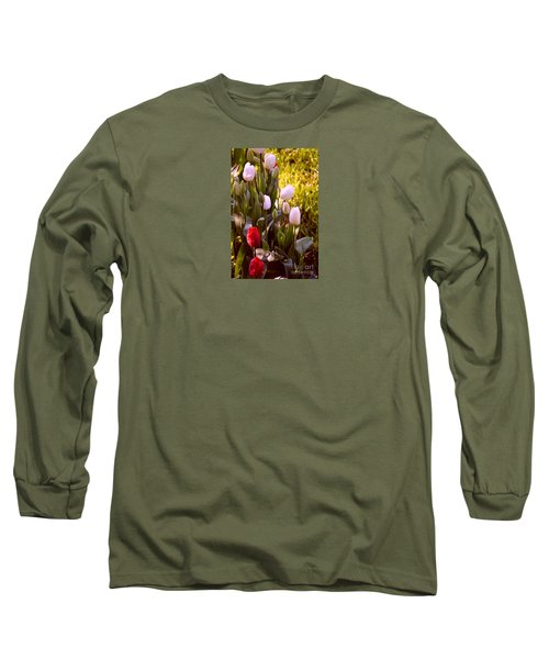 Long Sleeve T-Shirt featuring the photograph Spring Time Tulips by Susanne Van Hulst