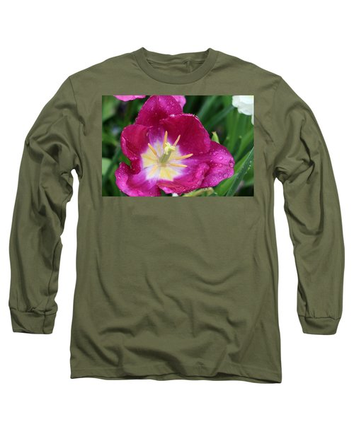 Spring Tulips 47 Long Sleeve T-Shirt