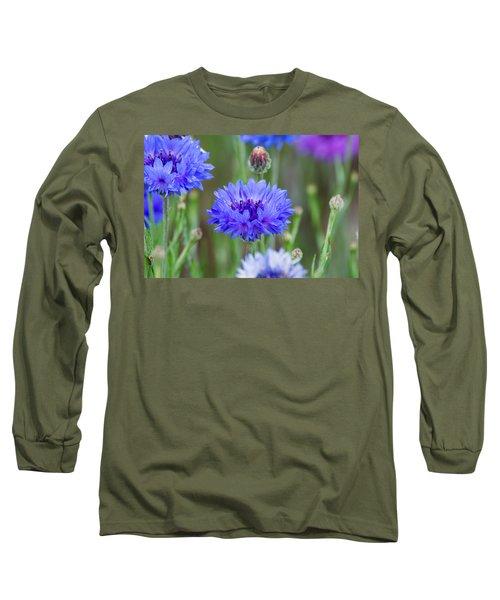 Springtime Blues Long Sleeve T-Shirt