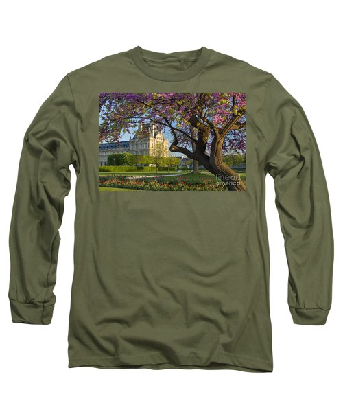 Springtime In Paris Long Sleeve T-Shirt