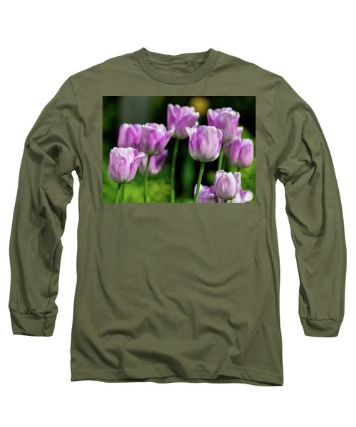 Springtime In Stratford Long Sleeve T-Shirt