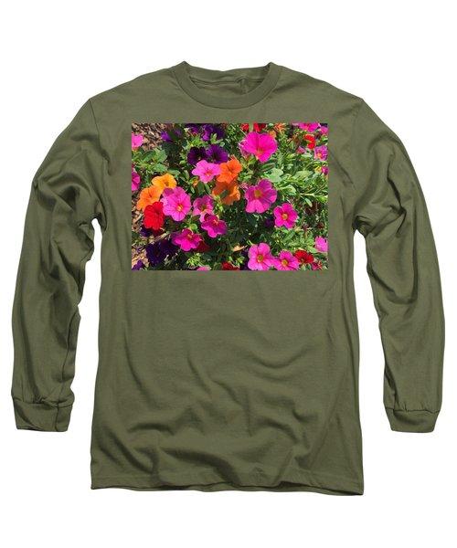 Springtime On The Farm Long Sleeve T-Shirt
