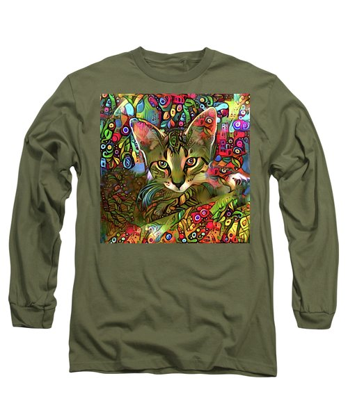 Sprocket The Tabby Kitten Long Sleeve T-Shirt