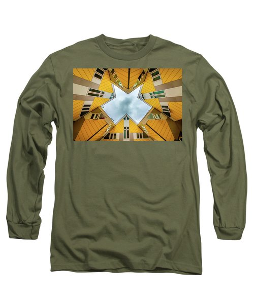 Squared Long Sleeve T-Shirt