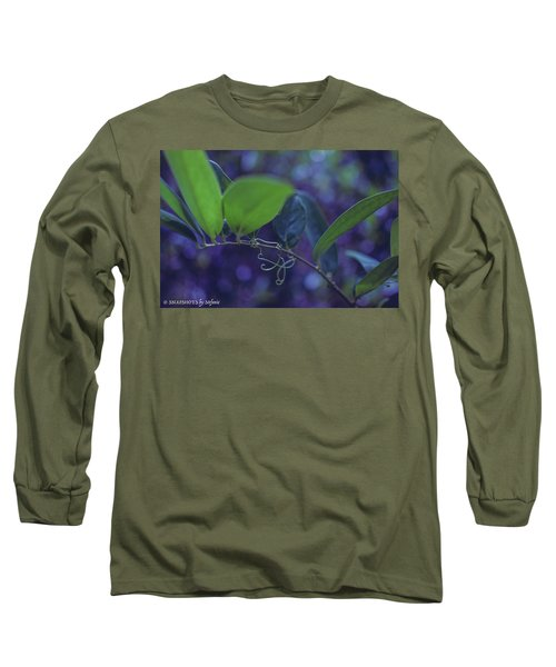 squiggle Vine Long Sleeve T-Shirt by Stefanie Silva