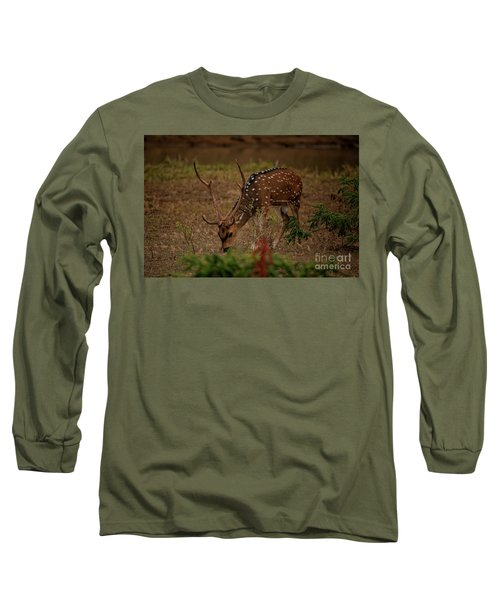 Sri Lankan Axis Deer Long Sleeve T-Shirt