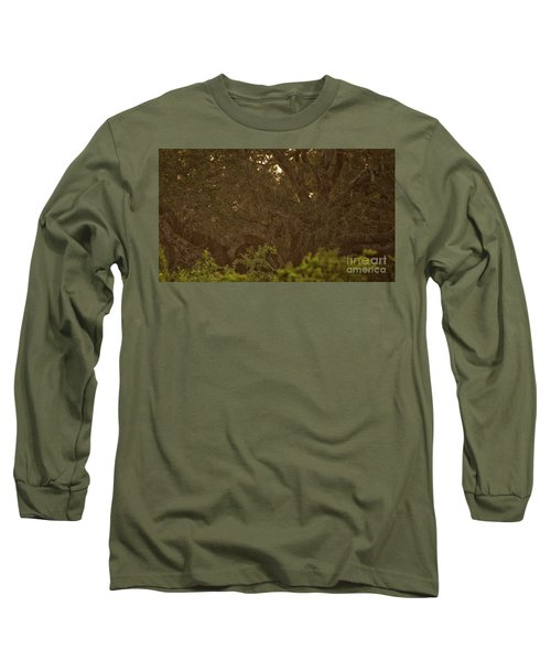 Sri Lankan Leopard And Wild Boar Long Sleeve T-Shirt