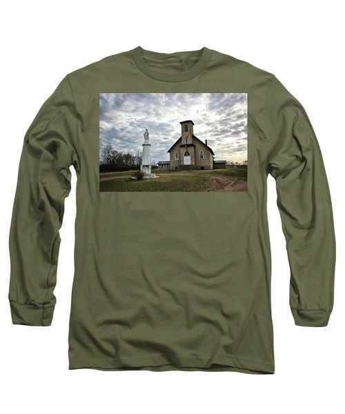 Long Sleeve T-Shirt featuring the photograph St Hubert by Ryan Crouse