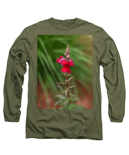 St. Johns Park Flower 872 Long Sleeve T-Shirt