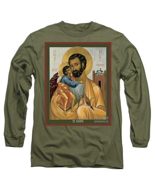 St. Joseph Of Nazareth - Rljnz Long Sleeve T-Shirt