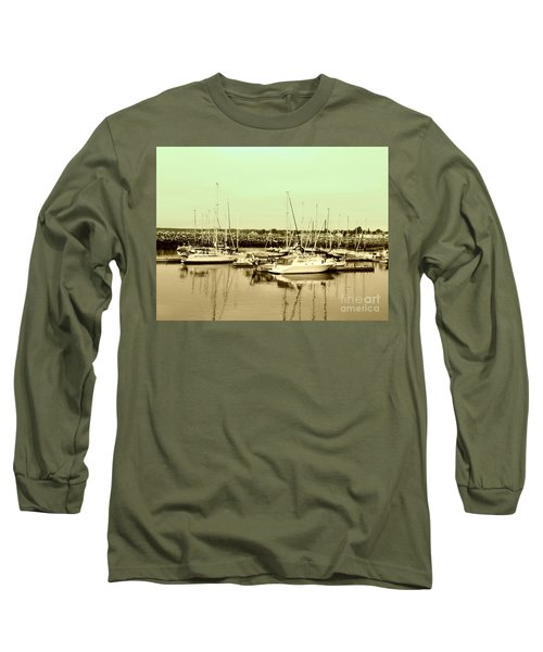 St. Lawrence Seaway Marina Long Sleeve T-Shirt