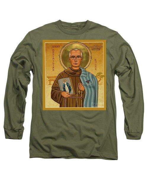 St. Maximilian Kolbe - Jckol Long Sleeve T-Shirt