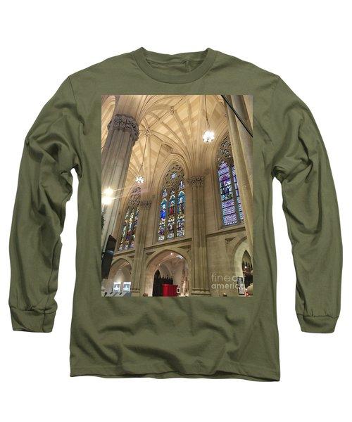 St. Patricks Cathedral Interior Long Sleeve T-Shirt