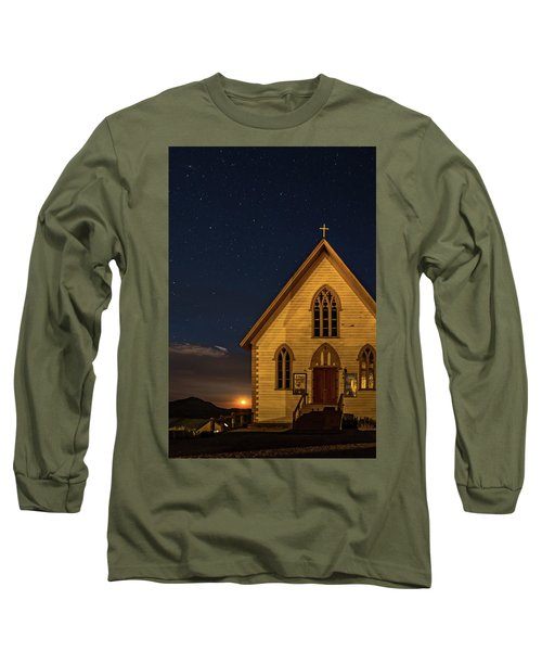 St. Paul's At Night Long Sleeve T-Shirt
