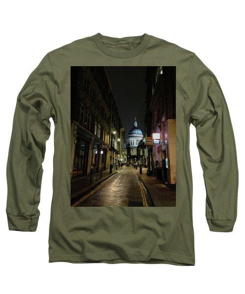 St. Pauls By Night Long Sleeve T-Shirt