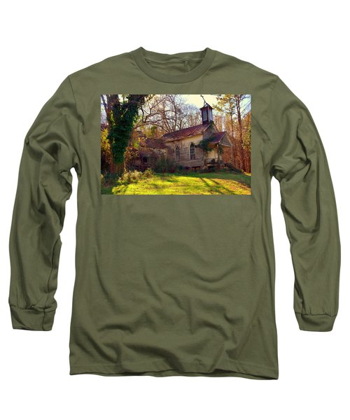 St Simon Church Peak Sc Long Sleeve T-Shirt