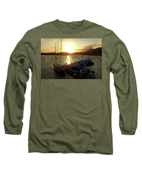 St. Thomas Harbor Long Sleeve T-Shirt
