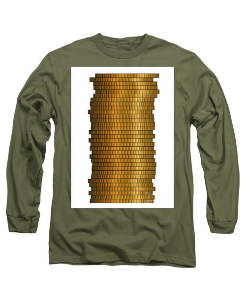 Stack Of Coins Long Sleeve T-Shirt