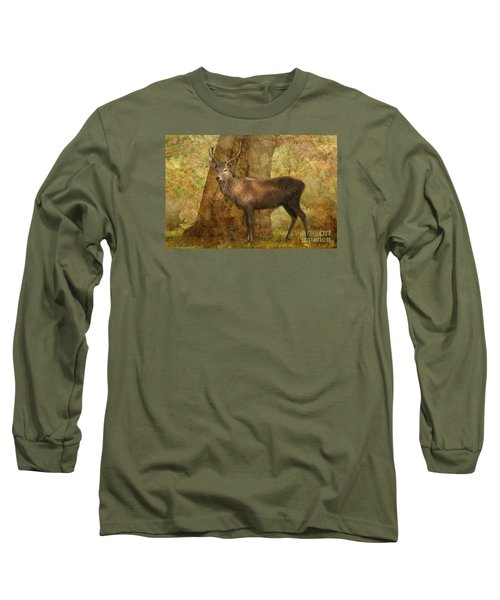 Stag Party Autumn Shade Long Sleeve T-Shirt