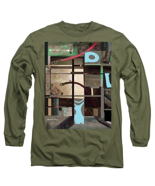 Long Sleeve T-Shirt featuring the mixed media Stage by Andrew Drozdowicz