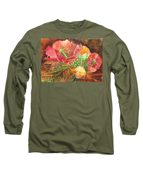 Staghorn In Bloom Long Sleeve T-Shirt