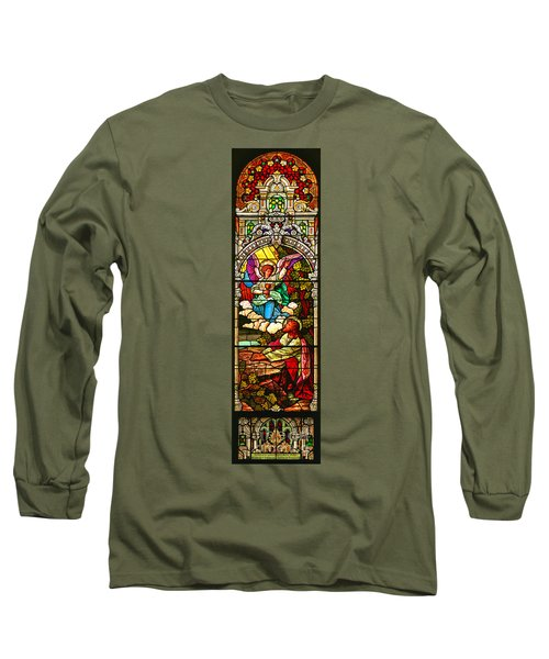 Long Sleeve T-Shirt featuring the photograph Stained Glas Scene 7 by Adam Jewell