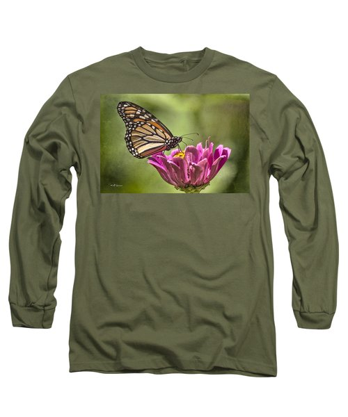 Stained Glass Wings Long Sleeve T-Shirt