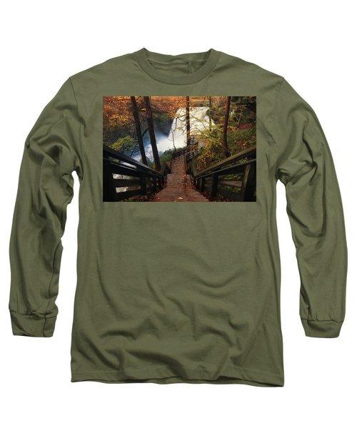 Stairway To Brandywine Long Sleeve T-Shirt by Rob Blair