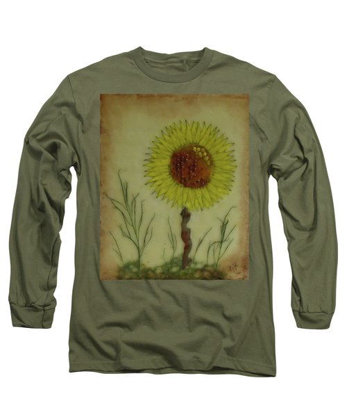 Standing At Attention Long Sleeve T-Shirt by Terry Honstead