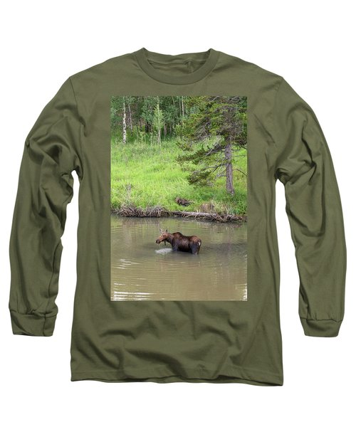Long Sleeve T-Shirt featuring the photograph Standing Guard by James BO Insogna
