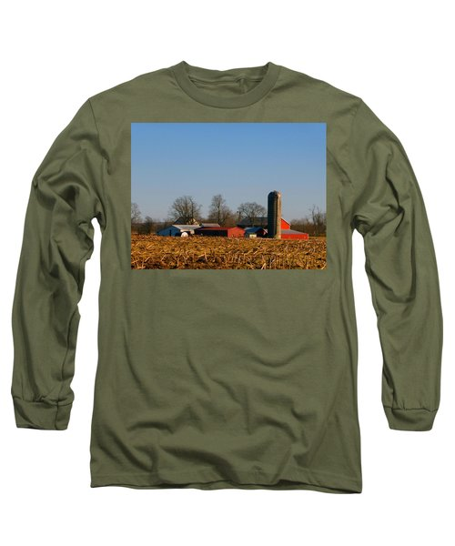 Standing Still Patiently Waiting Long Sleeve T-Shirt