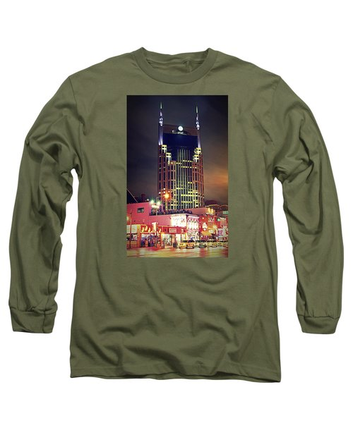 Standing Tall Long Sleeve T-Shirt by Matt Helm