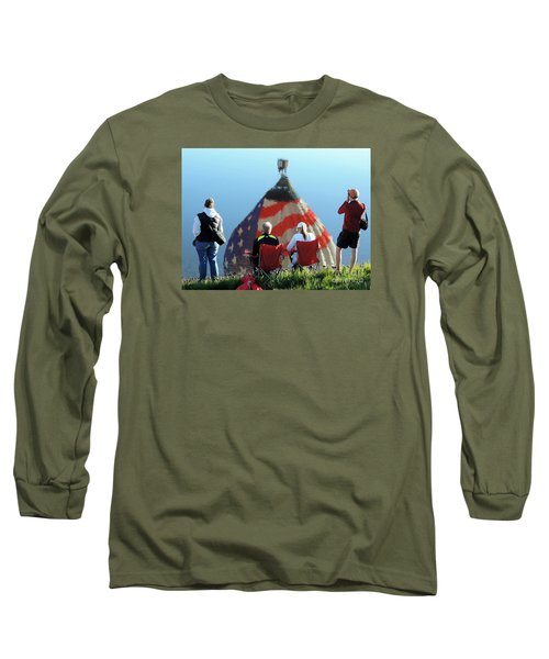 Star Spangled Morning Long Sleeve T-Shirt