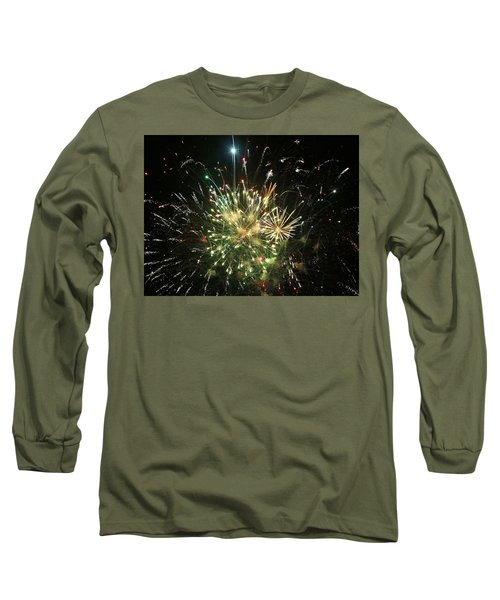 Star Spangling Fireworks Long Sleeve T-Shirt