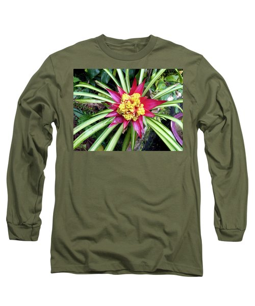 Starburst Long Sleeve T-Shirt by Russell Keating