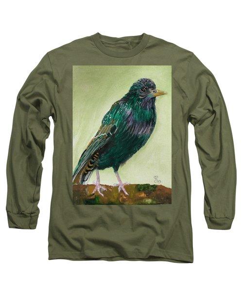 Starling Long Sleeve T-Shirt by Carole Robins