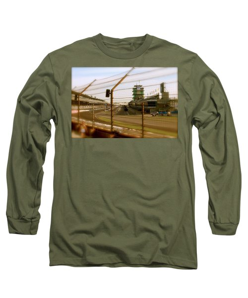 Start Finish Indianapolis Motor Speedway Long Sleeve T-Shirt